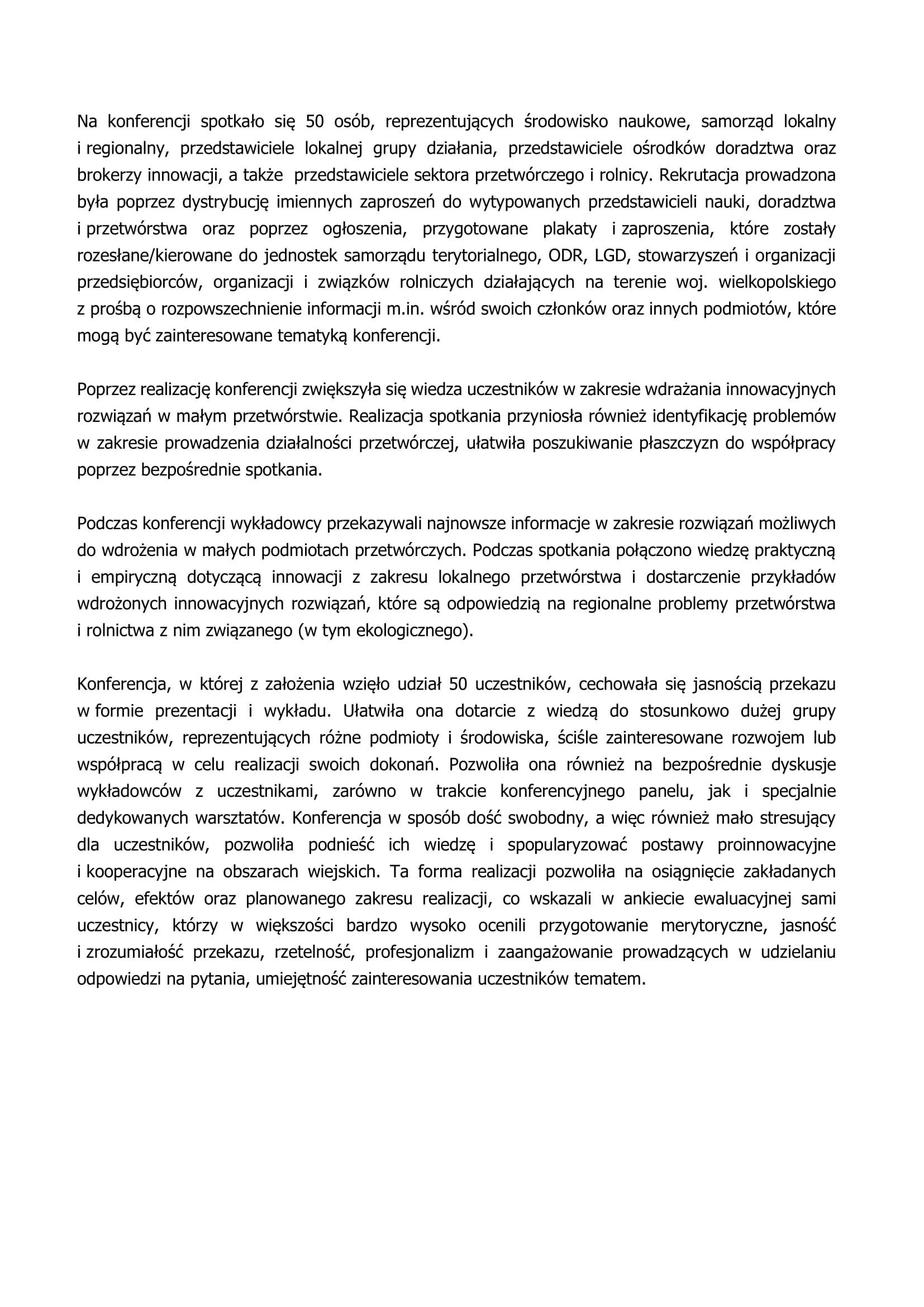 Sprawozdanie z konferencji-2